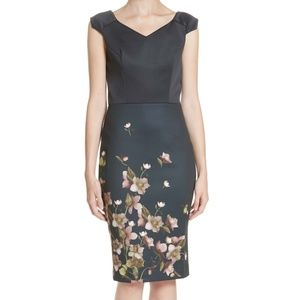 Ted Baker London Hilldi Arboretum Sheath Dress Ted